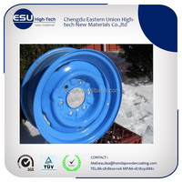 RAL 5012 light blue low cure polyester powder coating paint