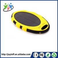 ODM supplier portable mobile solar 5000mah mini external power bank charger