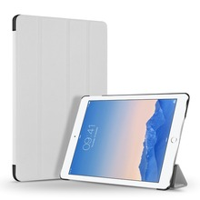 Leather Case Cover/Stand With Magnetic Function For Apple iPad air 2