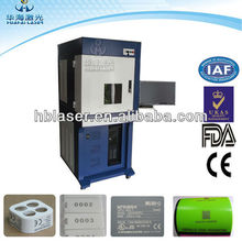 with protection box fiber laser etching coder