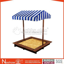 Cubby Plan outdoor play wooden sandpit children and OF-001 kids sand box