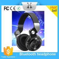 New Arrival Best Quality headphone bluetooth wirless earphone stereo sport FM radio TF card headband headset