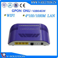 4GE+WIFI ftth modem,GPON ONU compatible with ZTE OLT
