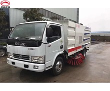 3.5m Sweeping width Vacuum road sweeper truck city street cleaner vehicles factory price