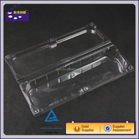 Custom waterproof eco-friendly rectangular plastic food tray