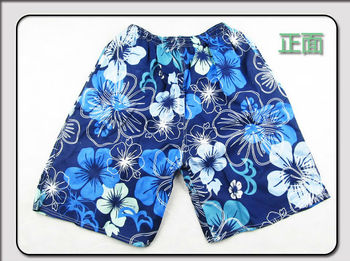 men's cheap printed swimming shorts stock boardshort stock beach shorts
