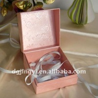 Pink Wedding Packaging Printing Gift Boxes