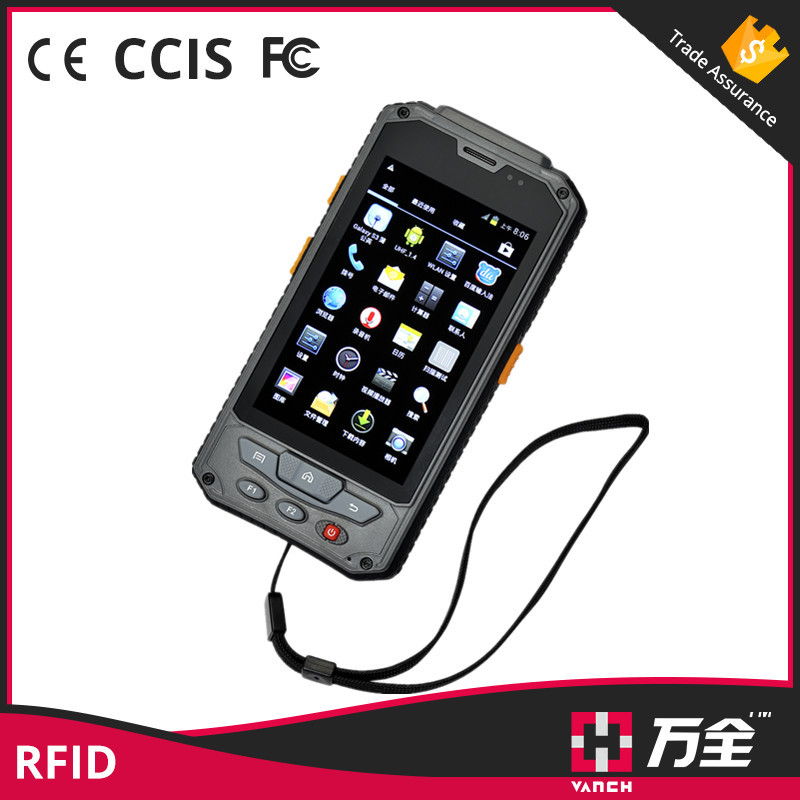 Android OS dual core waterproof gps long distance 2m smartphone uhf rfid reader