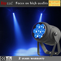 Hot popular 7x15w 4 in 1 rgbw led zoom mini dmx512 par light for wedding event