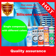 glass adhesive windows and doors silicone sealant with acetic curing
