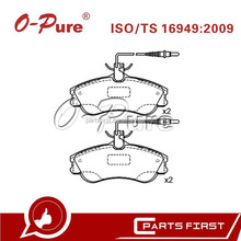 Auto Disc Brake Pads FMSI D1190 Ceramic Good Price for Citroen Xsara Peugeot Partner