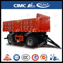 CIMC mini 4-wheel tractor truck trailer