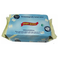 Spunlace nonwoven material alcohol free soft baby wipes factory