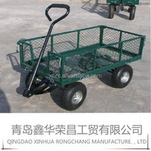 garden steel mesh wagon cart for north america TC1840