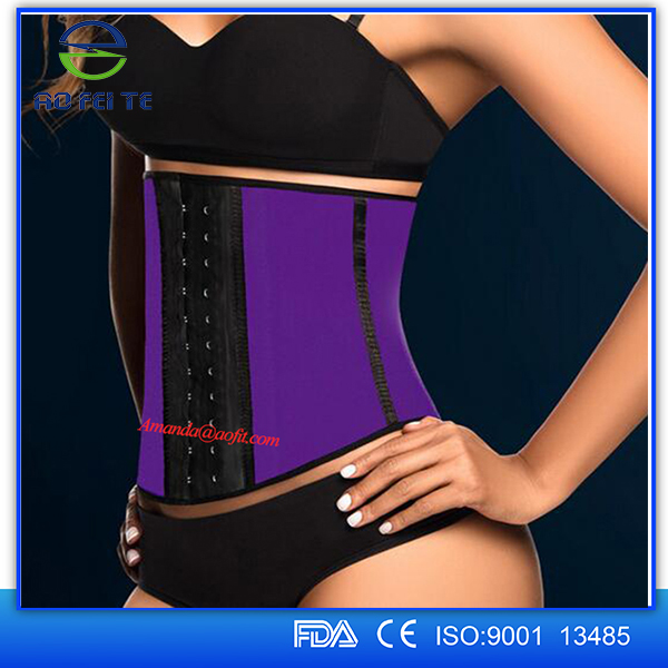 Alibaba Top Sale Steel Boned Back Support Adjustable Waist Training Corset