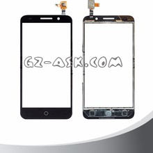 for alcatel one touch Pixi 3 5.0 5015 5015A 5015D 5015X 5015E touch screen digitizer glass panel Black cell phone mobile
