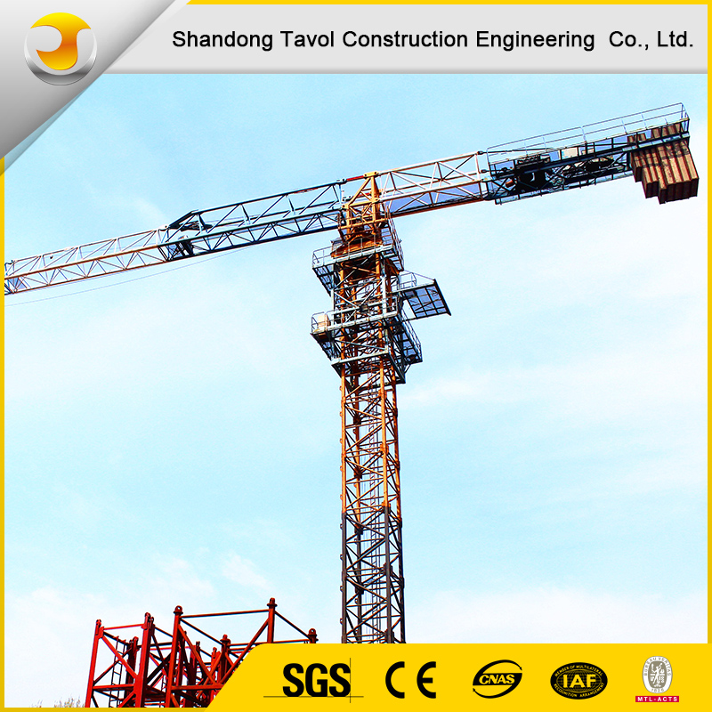 The cheapest topless tower crane made in China