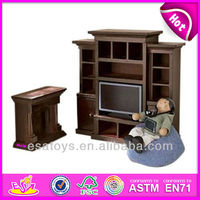 2015 New kids wooden tv cabinet toy,popular children wooden tv cabinet set and hot tv cabinet,Raleigh Great Room Set WJ278018