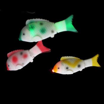 Plastic Led Fish Flashing Fish Kids Toys Buy Plastic Led