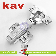 AK304H09 furnitures kitchens self close cabinet stainless steel straight hinge