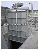 electric water sluice gate