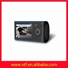Wide Angle 2.7 inches dual camera motion detecting best car camera recorder