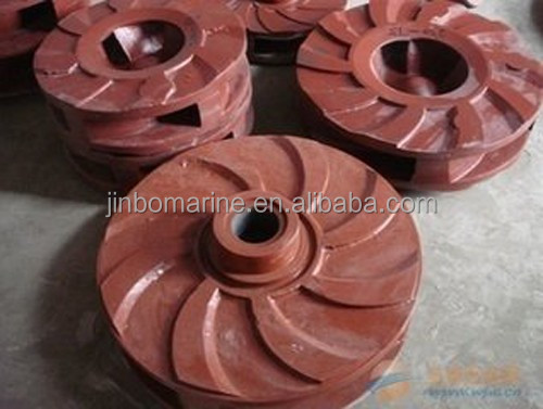 Dredge Pump Impeller And Other Quick Wear Part Fittings