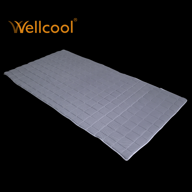 China manufacture wellcool 3d spacer fabric breathable mattress topper - Jozy Mattress | Jozy.net
