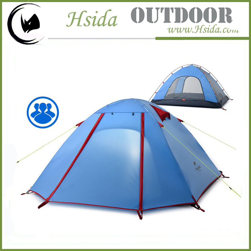 3 men waterproof Outdoor nylon Flodable Air Sealed Inflatable Camping Tent