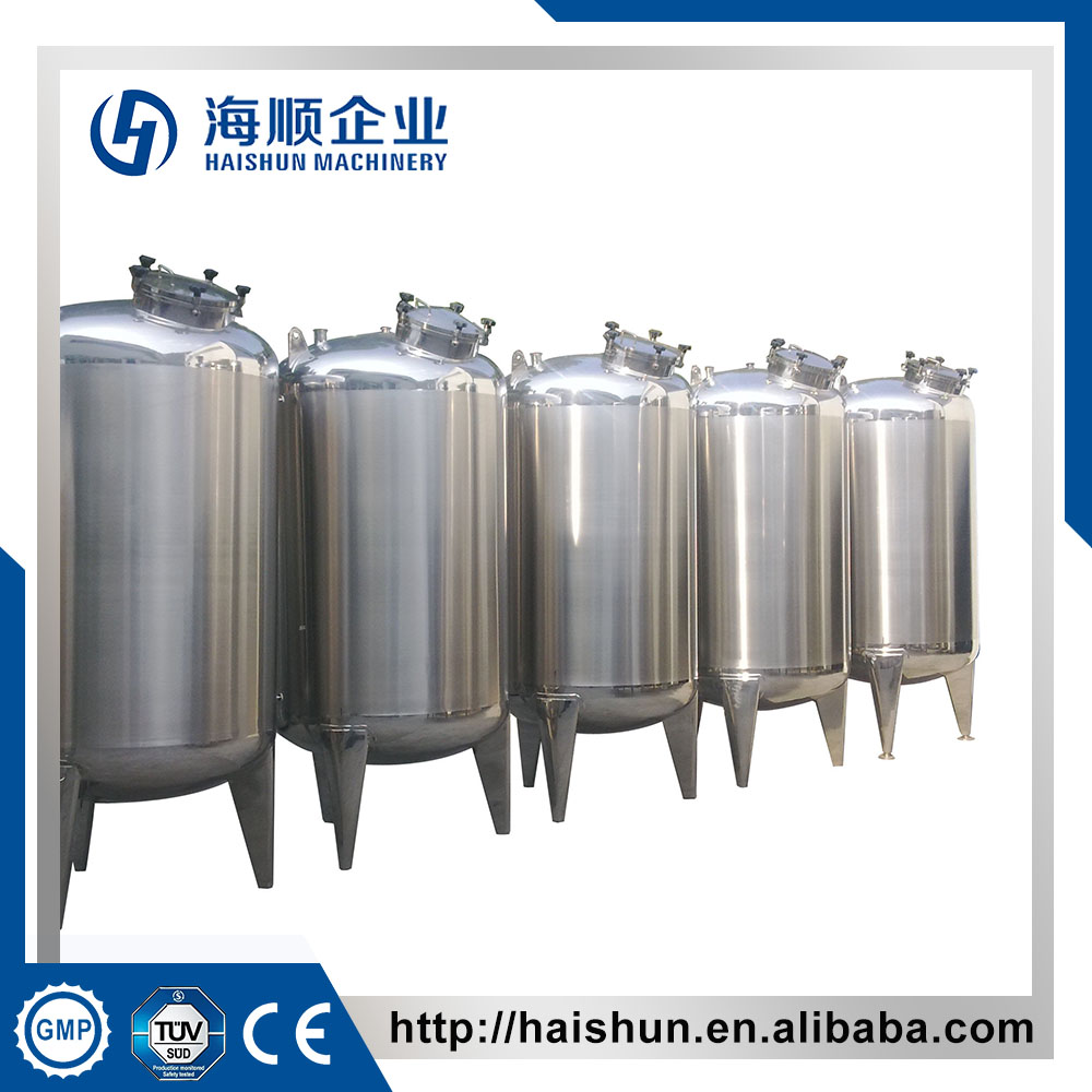 5000L SS Sanitary Storage Tank With ladder(CE)