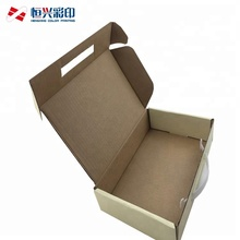 Custom logo design corrugated mailing box packaging shipping carton boxes