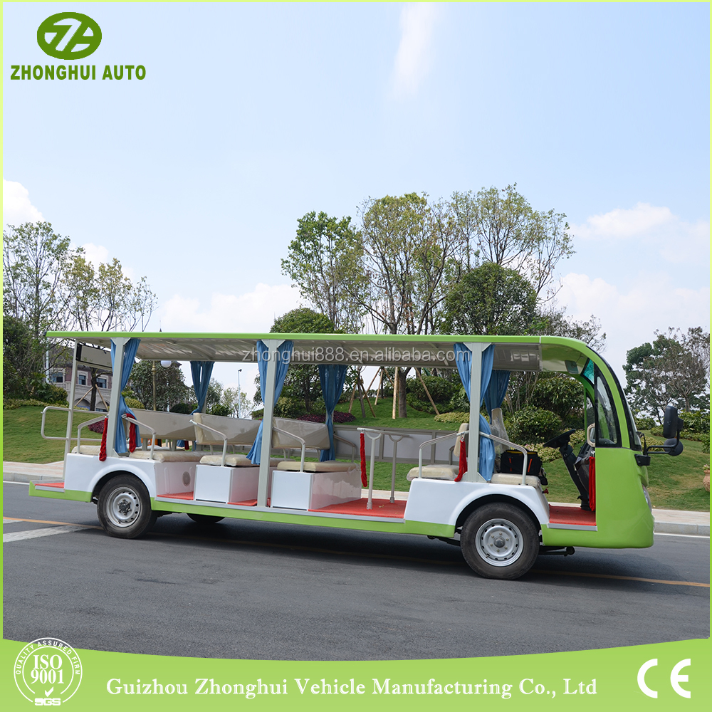 2017 hot products good quality resort tourist electric passenger car with CE Certificate