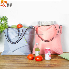 New Nylon Shopping Tote Bag Reusable Grocery Bags Foldable