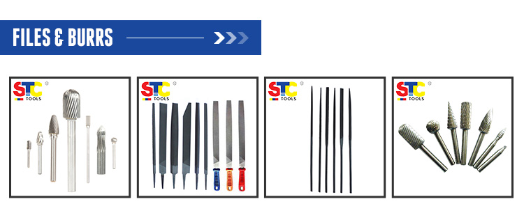Tungsten Carbide burrs Type SC Cylinder shape with radius end