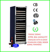 Multi Temperature with 3 Adjustable Settings Home Chiller USF-168T Triple Zone Deep Freezer Cabinet