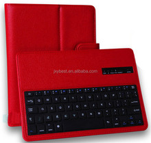 China Factory Custom High quality leather Bluetooth keyboard case for Samsung Galaxy Note 10.1 2014 Edition P600