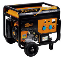 air cooled 4 stroke recoil/electric starting 6500W gasoline generator