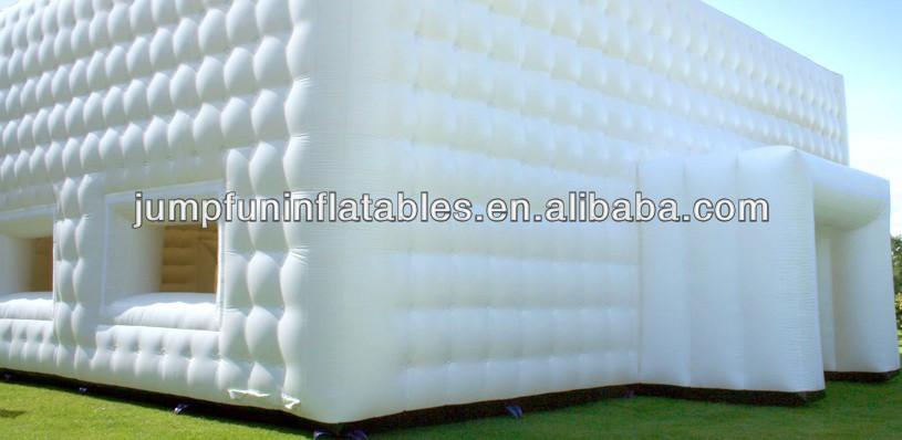 inflatable wedding tent/air party tents/large inflatable white tent