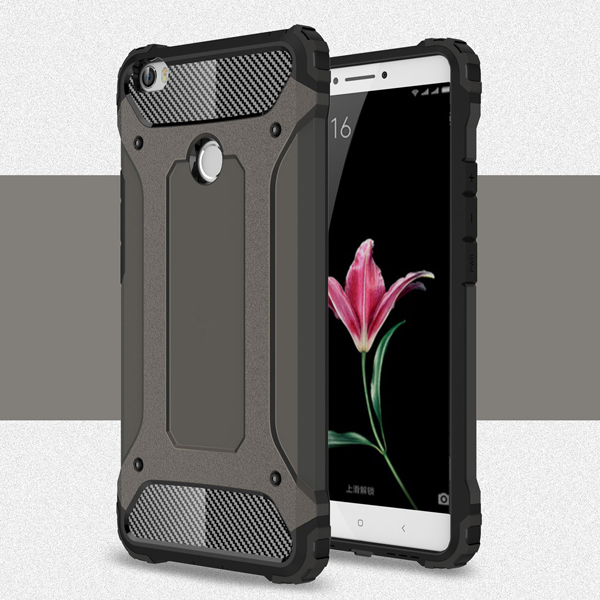 PC TPU heavy duty shockproof armor case cover for xiaomi mi <strong>max</strong>