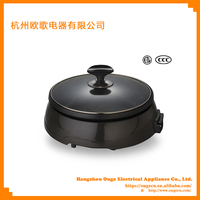 Die Cast Aluminum Electric Happy Call Pan Grill And Pan Frying EP250