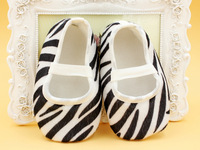 2016 baby shoes ,hot pink cute baby shoes ,zebra printed shoes Infant Casual Shoes 100pairs EMS free shipping
