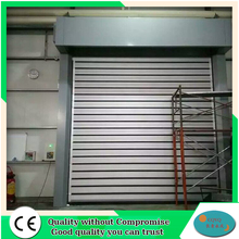 Exterior pvc outside aluminum containers roll up door