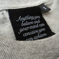 custom woven label,clothing woven label,garment woven label neck tag
