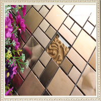 2015 New Home Docorative mixed color metal Mosaic Tiles