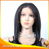 full lace synthetic wig accept paypal silk straight 1B color synthetic hair wig