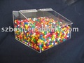 Acrylic Candy Bin,Perspex Candy Container,Lucite Chocolate Box