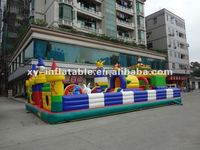 Custom made inflatable fun city games