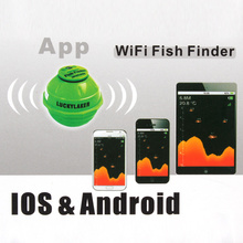 Lucky FF916 Sonar Wireless WIFI Underwater Fish Finder 50M/130ft For IOS Iphone Android