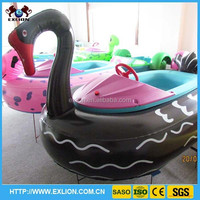 inflatable battery operated bumper boat for kids
