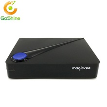 goshine C300 Amlogic S905D Quad-core 2GB 16GB DVB-T2 DVB-S2 Cable Set Top Box Android 6.0 4K Smart TV Box C300